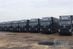 Chenglong H5 Cargo Trucks Mass Delivered to SF Express