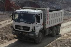 Dongfeng's First Autonomous Engineering Vehicle Run a Real-World Test
