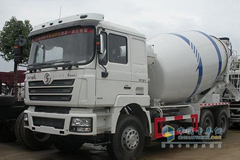 SHACMAN F3000 336HP 6X4 Dual-fuel Concrete Mixer