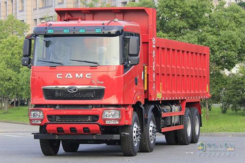 CAMC 375HP 8×4 8.2m H9 Dumper+Hanma Power+Hanma Gearbox