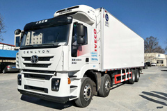 Hongyan M500 430HP Refrigerator Truck