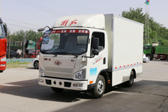 Jiefang J6F 4.5T 4.21m Single Row 92.16kWh Electric Cargo Truck(CA5043XXYP40L1BEVA83)