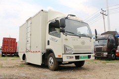 Jiefang J6F 4.5T 4.21m Single Row 82.43kWh Electric Cargo Truck+LVKONG Power