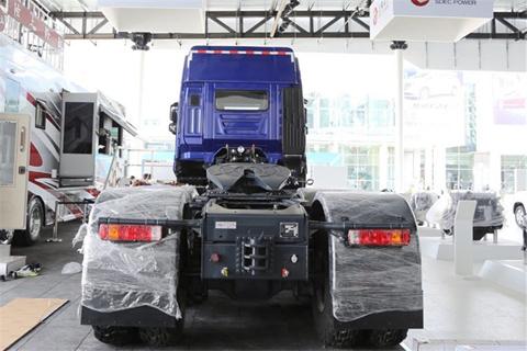 Hongyan Genlyon C500e 560hp 6X6 AMT Tractor+SAIC Fiat Engine+ZF Transmission