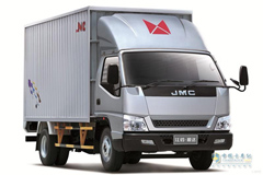 JMC Shunda Wide-body 85hp Sing-row Cargo Truck