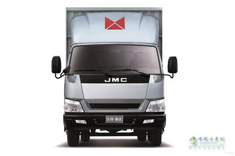 JMC Shunda Wide-body 85hp Sing-row Cargo Truck+JMC Power