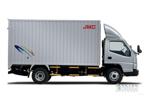 JMC Shunda Wide-body 85hp Sing-row Cargo Truck