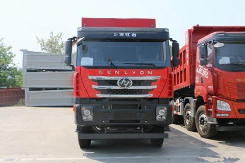 Hongyan Genlyon C6 380hp 8X4 8.2m Dumper+Foton Cummins+FAST Gearbox