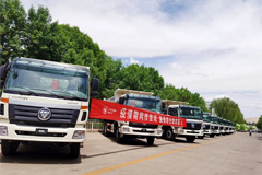 87 Units Foton Auman Heavy-duty Trucks to Arrive in Côte d'Ivoire