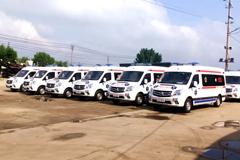 Foton Delivers the First 15 Negative Pressure Ambulances to Uzbekistan