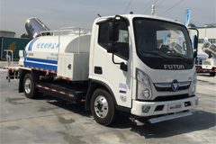 Foton IBLUE All-Electric Anti-dust Truck Makes Its Debut