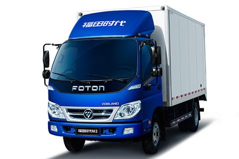 Foton Forland M3 Single Row 4X2 Cargo Truck+Yunnei Power