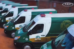 15 Units JAC Xingrui Ambulances Delivered to Bolivia for Operation