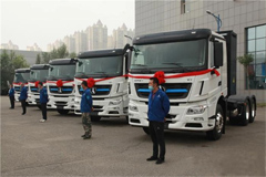 40 Units Beiben Electric Trucks Delivered to Angang Group for Operation