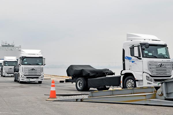 Hyundai to Ship First hydrogen Fuel Cell Heavy Trucks to Switzerland