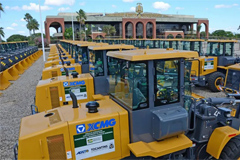 XCMG Delivers 200 Construction Machinery to Brazilian Government