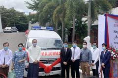 Foton Donates Negative Pressure Ambulances to Myanmar