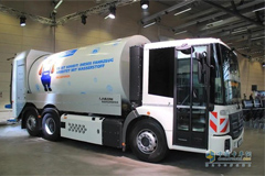 Cummins Delivers Fuel Cells for Refuse Trucks in Europe