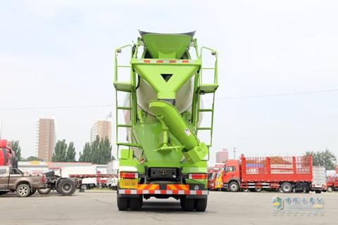Jiefang J6P 390HP 8X4 Concrete Mixer(CIMC Lingyu)