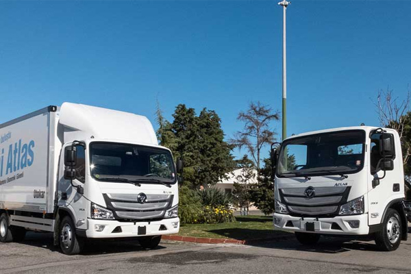 Foton Delivers 193 Units of AUMARK S with Euro VI Emission to Turkey