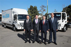 193 Units Foton AUMARK S Light Trucks to Arrive in Turkey for Operation