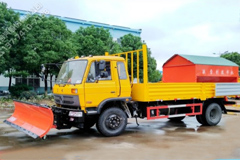 Dongfeng 145 Multi-function Snow Removal Truck