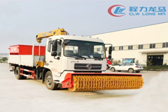 Dongfeng KR Snow Sweeper with Snowmelt Agent Spreader and Snow Brush