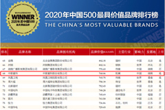ZOOMLION Listed in China's 500 Most Valuable Brands for 17 Consecutive Years