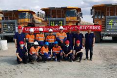 SANY SRT95C Dump Trucks Delivered in Eritrea