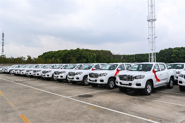 400 Units SAIC Maxus T60 Pickups Shipped to Qatar for Rental Services