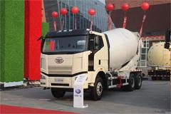 FAW Jiefang J6P 350hp 6X4 5 Cubic Meter Concrete Mixer