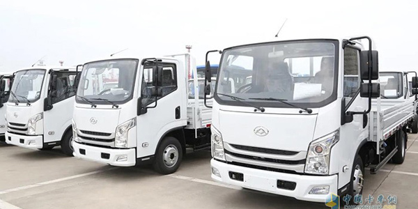 50 Units SAIC Light Trucks Exported to Chile for Operation