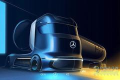 Daimler Unveils GenH2 Hydrogen Fuel-cell Concept Truck