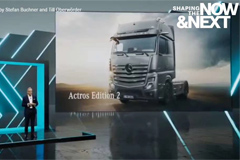 Mercedes-Benz Access to New Target markets with Actros F and Edition 2