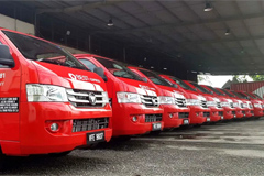 Foton Delivers First 20 VIEW Vehicles to BEST EXPRESS in Malaysia
