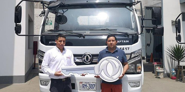 Dongfeng Hands Over Some 200 Trucks to Overseas Market
