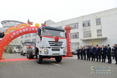 Hongyan Heavy-duty Trucks Were Exported to Turkmenistan for First Time