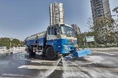 Shanghai Urban Sanitation Uses Allison 3000 SeriesTM Transmission on Sprinklers