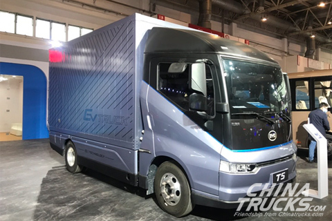 BYD T5 Delivery Truck+Lithium Iron Phosphate Battery
