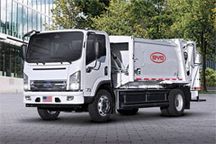 BYD to Introduce First Battery-electric Refuse Truck to Maryland