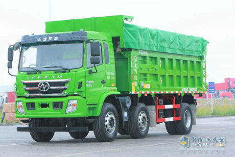 Hongyan GENPAW 280hp 6X2 Dumper+SAIC Power+FAST Gearbox