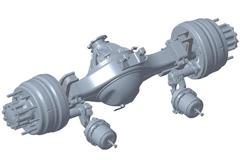Dongfeng Dana D400 Rear Single Axle