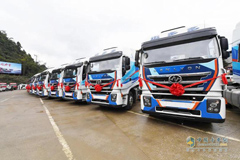 100 Units SAIC Hongyan Heavy-duty Trucks to Arrive in Vietnam for Operation
