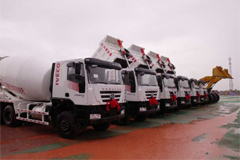 SAIC Hongyan Trucks Participated in the Construction of China-Lao Railways