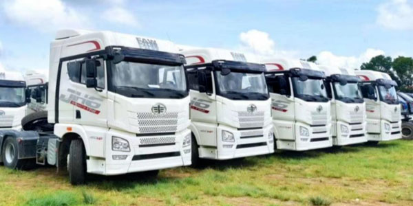FAW Jiefang Export Volume in Myanmar Reaches a New Record High