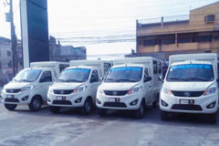 200 Units Foton Mini-trucks Delivered to Philippines for Operation