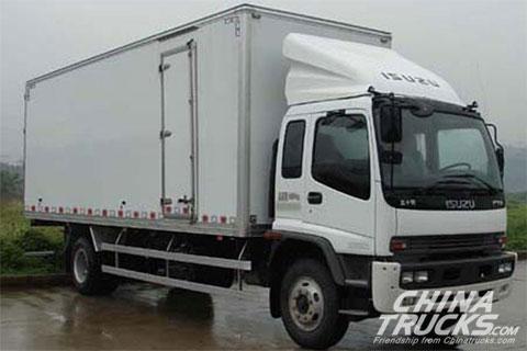 Qingling FTR Series Midium Truck 205HP 4X2 9.6M