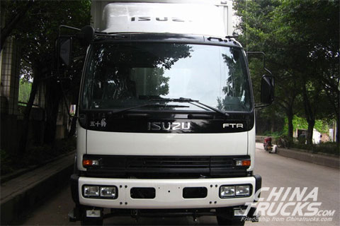 Qingling FTR 4X2 Stake Truck with 205HP 6.65M