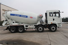 CAMC 4-Axle Concrete Truck Mixer with 7m3 Tank Mixing Volume