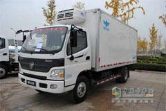 Foton Aumark 3 Series 4×2 154HP Refrigerator Truck+Foton Cummins Power